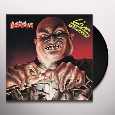 Destruction LIVE WITHOUT SENSE Vinyl Record