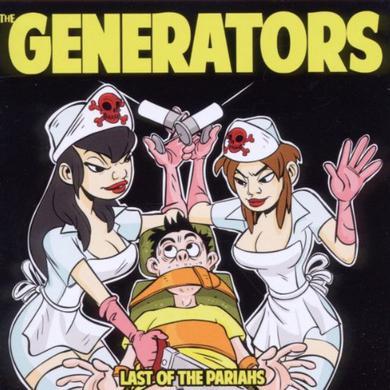 Generators LAST OF THE PARIAHS Vinyl Record