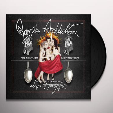 Jane's Addiction ALIVE AT TWENTY-FIVE - RITUAL DE LO HABITUAL LIVE Vinyl Record