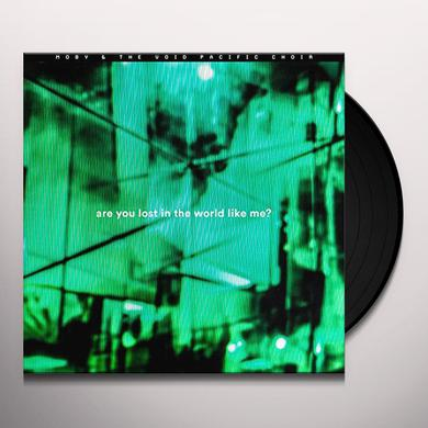 Moby ARE YOU LOST IN THE WORLD LIKE ME Vinyl Record