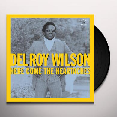 Delroy Wilson HERE COMES THE HEARTACHES Vinyl Record