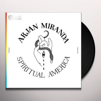 Arjan Miranda SPIRITUAL AMERICA Vinyl Record