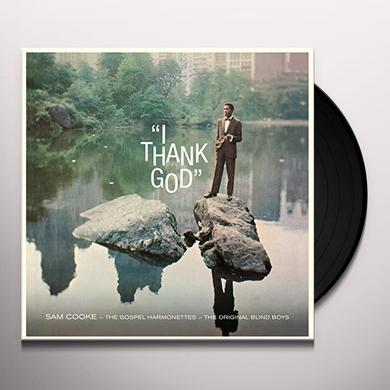 Sam Cooke I THANK GOD + 2 BONUS TRACKS Vinyl Record