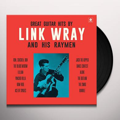 GREAT GUITAR HITS BY LINK WRAY & HIS WRAYMEN + 4 Vinyl Record
