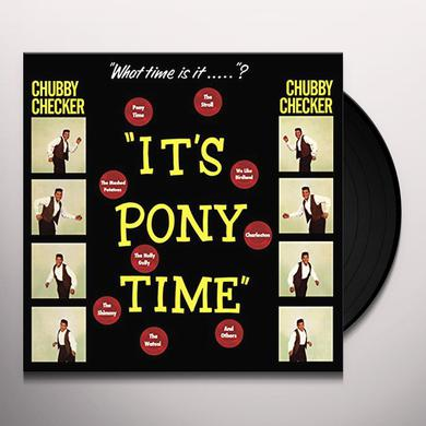 Chubby Checker IT'S PONY TIME + 2 BONUS TRACKS (BONUS TRACKS) Vinyl Record