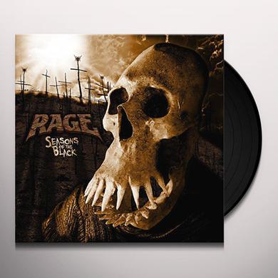 Rage SEASONS OF THE BLACK Vinyl Record