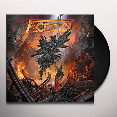 Accept RISE OF CHAOS Vinyl Record
