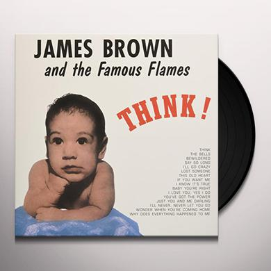 James Brown THINK Vinyl Record