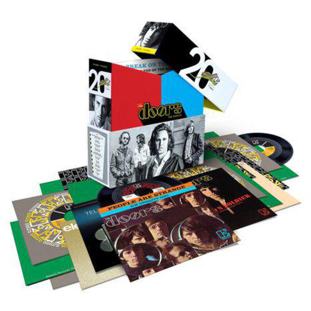 The Doors Quot Singles Quot 20 7 Quot Vinyl Records Limited Edition