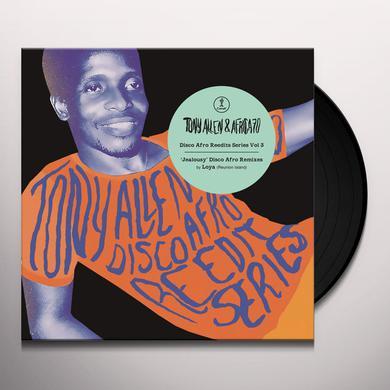 Tony Allen & Africa 70 JEALOUSY (DISCO AFRO REEDITS SERIES 3) Vinyl Record