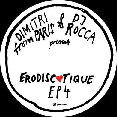 Dimitri From Paris & Dj Rocca ERODISCOTIQUE EP4 Vinyl Record