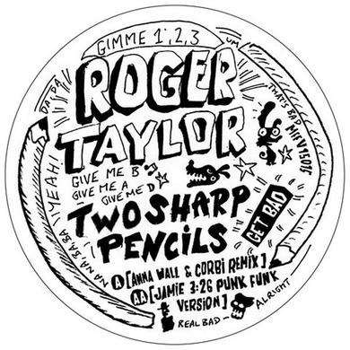 Roger Taylor TWO SHARP PENCILS (GET BAD) Vinyl Record