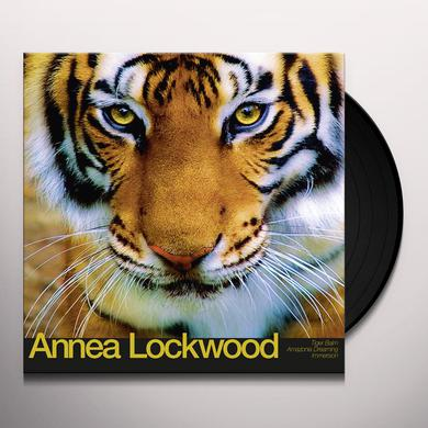 Annea Lockwood TIGER BALM / AMAZONIA DREAMING / IMMERSION Vinyl Record