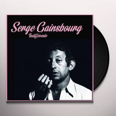 Serge Gainsbourg INDIFFERENTE Vinyl Record