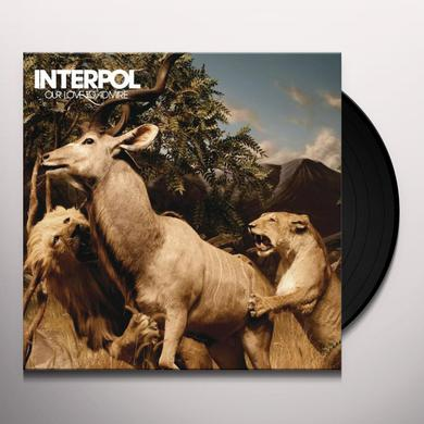 Interpol OUR LOVE TO ADMIRE Vinyl Record