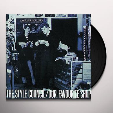 Style Council OUR FAVOURITE SHOP (LILAC VINYL) Vinyl Record