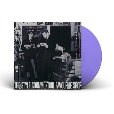 Style Council OUR FAVOURITE SHOP (LILAC VINYL) Vinyl Record