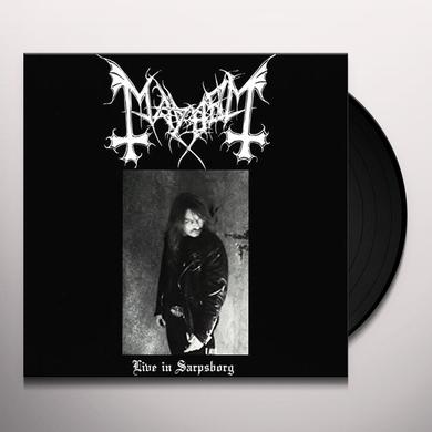 Mayhem LIVE IN SARPSBORG Vinyl Record