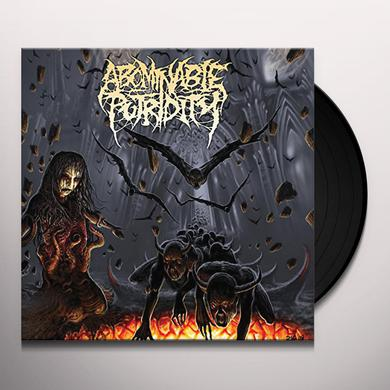 Abominable Putridity IN THE END OF HUMAN EXISTENCE Vinyl Record