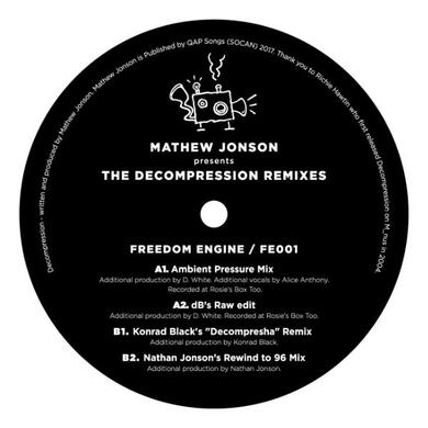MATHEW JONSON PRESENTS THE DECOMPRESSION REMIXES Vinyl Record