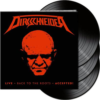 DIRKSCHNEIDER LIVE - BACK TO THE ROOTS - ACCEPTED! Vinyl Record