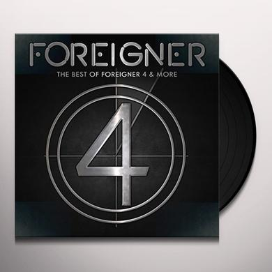 Foreigner BEST OF 4 AND MORE Vinyl Record