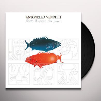 Antonello Venditti SOTTO IL SEGNO DEI PESCI Vinyl Record