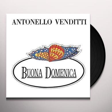 Antonello Venditti BUONA DOMENICA Vinyl Record