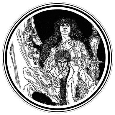Psychic Tv ALLEGORY & SELF (WHITE VINYL) Vinyl Record