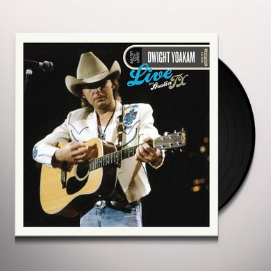 Dwight Yoakam LIVE FROM AUSTIN TX Vinyl Record