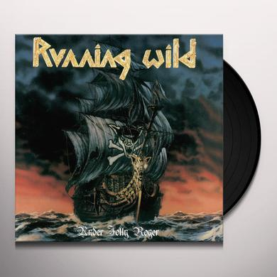 Running Wild UNDER JOLLY ROGER Vinyl Record