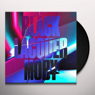 Moby BLACK LACQUER Vinyl Record