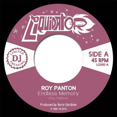 Roy Panton ENDLESS MEMORY / TELL ME Vinyl Record