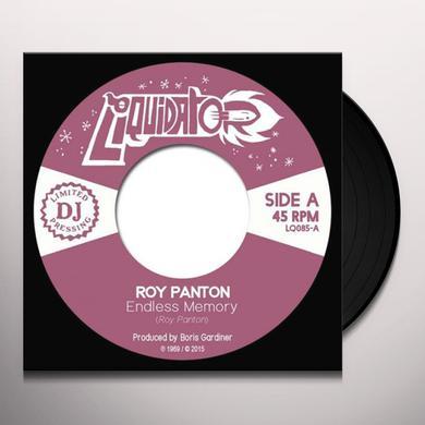 Roy Panton ENDLESS MEMORY / TELL ME Vinyl Record