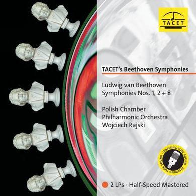 Beethoven / Polish Chamber Phil Orch / Rajski TACET'S BEETHOVEN SYMPHONIES 1 Vinyl Record