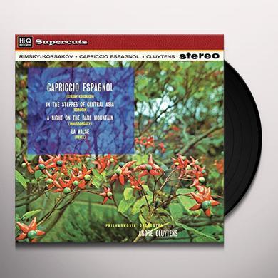 Andre Cluytens & Philharmonia Orchestra RIMSKY-KORSAKOV CAPRICCIO ESPAGNOL Vinyl Record