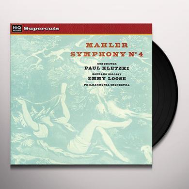 Paul Kletzki & Philharmonia Orchestra MAHLER SYMPHONY NO. 4 Vinyl Record