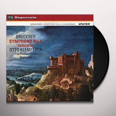 Otto Klemperer & Philharmonia Orchestra BRUCKNER SYMPHONY NO. 4 Vinyl Record
