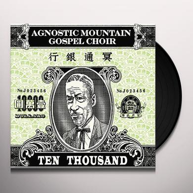 Agnostic Mountain Gospel Choir TEN THOUSAND Vinyl Record