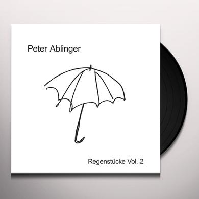 Peter Ablinger REGENSTUCKE 2 Vinyl Record