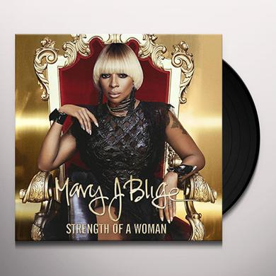 Mary J Blige STRENGTH OF A WOMAN Vinyl Record