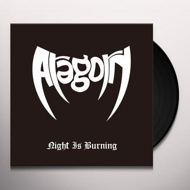 Aragorn NIGHT IS BURNING Vinyl Record