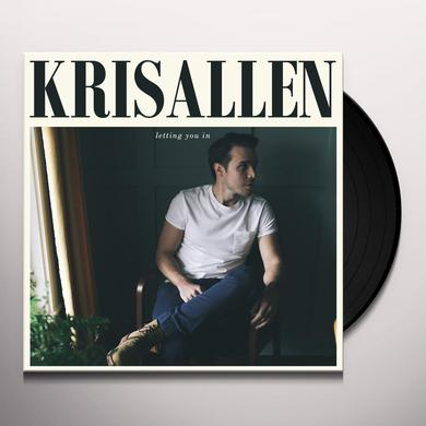 Kris Allen LETTING YOU IN Vinyl Record