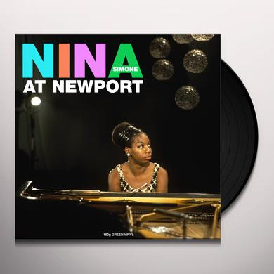 Nina Simone AT NEWPORT Vinyl Record