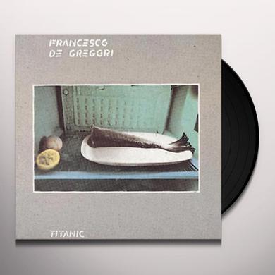 Francesco De Gregori TITANIC Vinyl Record