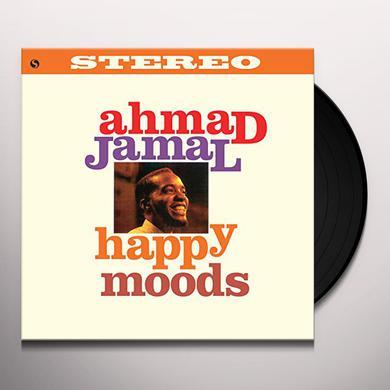 Ahmad Jamal HAPPY MOODS + 1 BONUS TRACK (BONUS TRACK) Vinyl Record - 180 Gram Pressing
