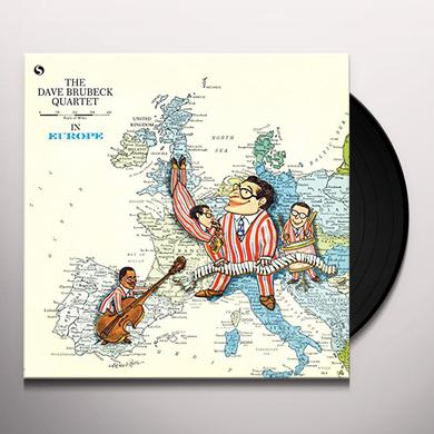 Dave Brubeck IN EUROPE: LIVE IN COPENHAGEN MARCH 5 1958 Vinyl Record - 180 Gram Pressing