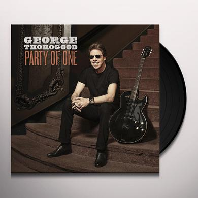 George Thorogood PARTY OF ONE Vinyl Record