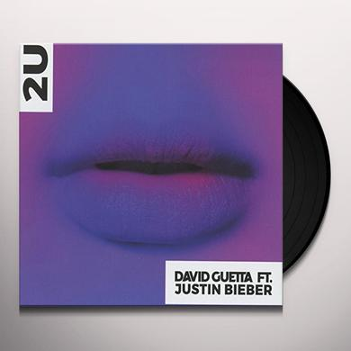 David Guetta 2U (FEAT. JUSTIN BIEBER) Vinyl Record