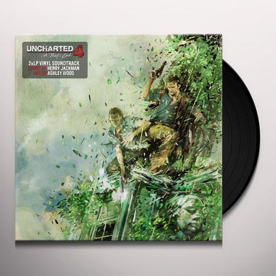 Henry Jackman UNCHARTED 4 / O.S.T. Vinyl Record
